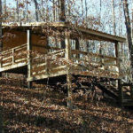 Turkey Roost camping platform